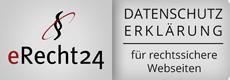 Datenschutzerklärung erstellt mit e-Recht24